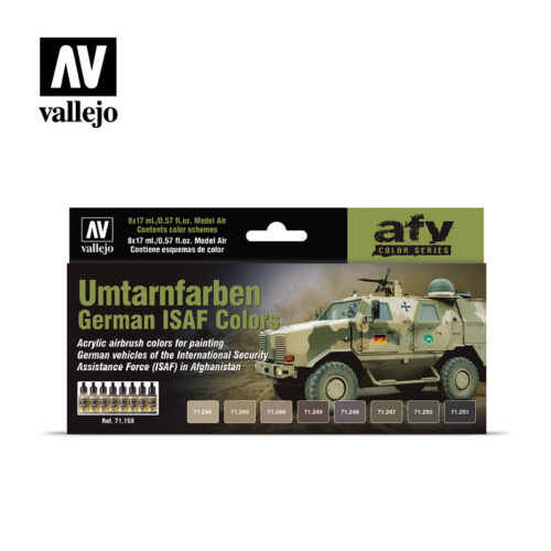Umtarnfarben German ISAF Colors Vallejo afv 71159