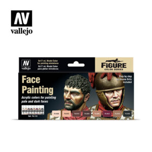 Face Painting Vallejo Figure set 70119
