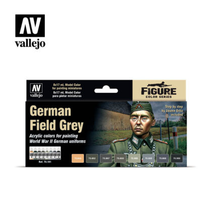 German Field Grey Vallejo Figure Set 70181