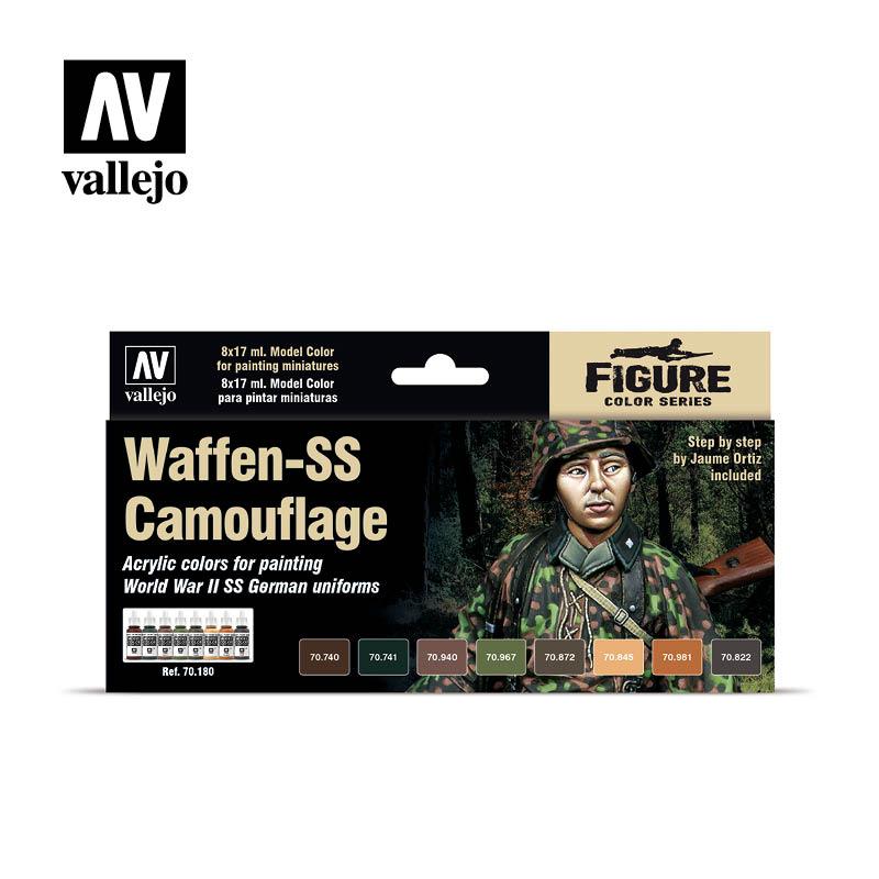 Waffen-SS Camouflage Figure set 70180