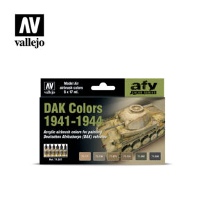 DAK Colors 1941-1944 Vallejo AFV 71207