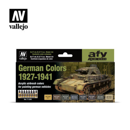 German Colors 1927-1941 Vallejo AFV 71205