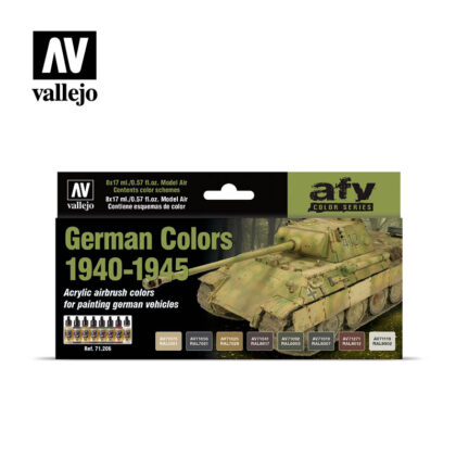 German Colors 1940-1945 Vallejo AFV 71206