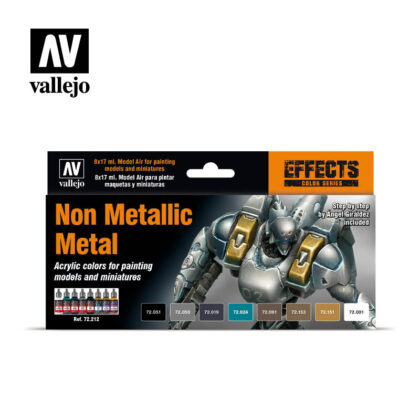 Non Metallic Metal 72212 Vallejo Game Color Effects set