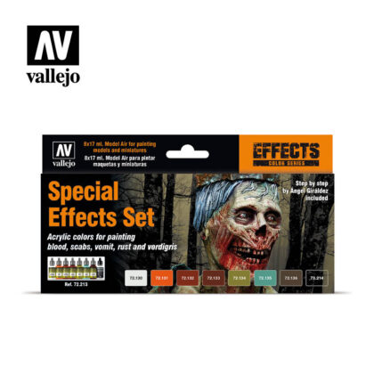 Special Effects 72.213 Vallejo Game ink Effects set