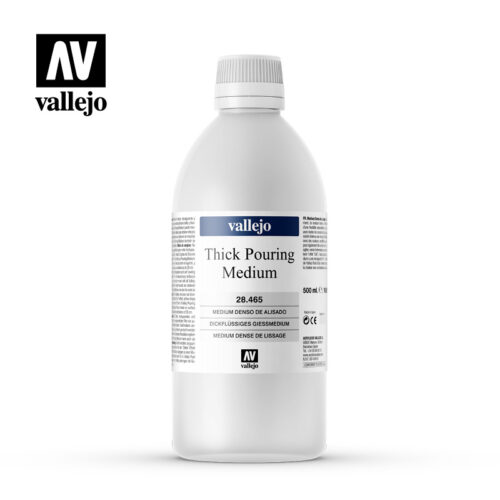 Thick Pouring Medium Vallejo 28465 500ml