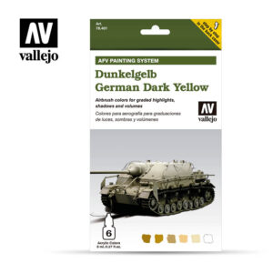 Dunkelgelb German Dark Yellow Vallejo AFV 78401
