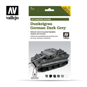 Dunkelgrau German Dark Grey Vallejo AFV 78400