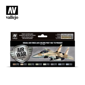Israeli Air Force (IAF) colors post 1967 to present Vallejo Air War 71203