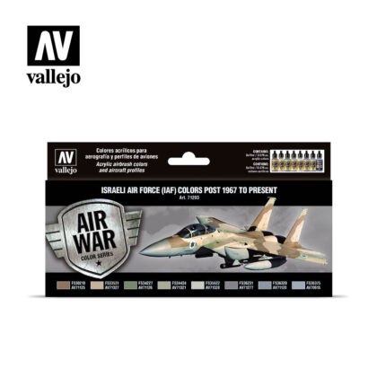 Israeli Air Force (IAF) colors post 1967 to present Vallejo Airwar 71203