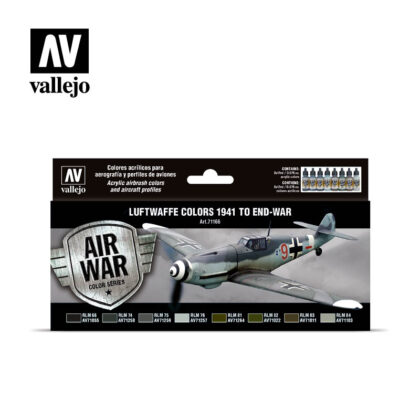 Luftwaffe colors 1941 to end-war Vallejo Air War 71166