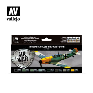 Luftwaffe colors pre-war to 1941 Vallejo Air War 71165