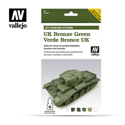 UK Bronze Green Vallejo AFV 78407