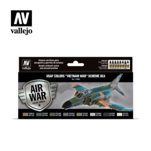 "USAF colors ""Vietnam War"" Scheme SEA (South East Asia) Vallejo Air War 71204"