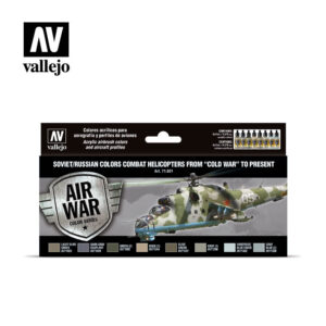 Soviet/Russian colors Combat Helicopters post WWII to present Vallejo Air War 71601