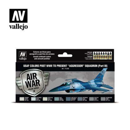 USAF Colors Aggressor Squadron Part III Vallejo Air War 71.618