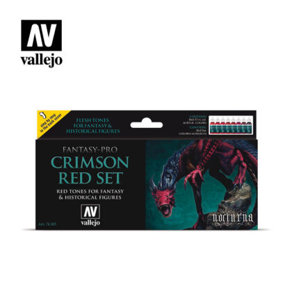 Crimson Red Vallejo Fantasy 74103