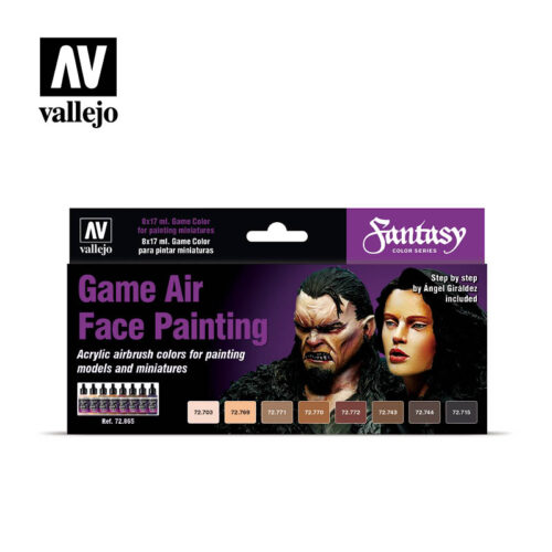 Game Air Face Painting Vallejo Fantasy 72865