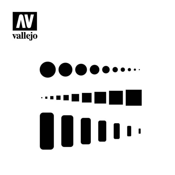 access trap doors vallejo hobby stencil ST-AIR003