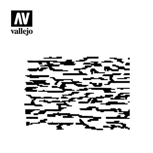 pixelated modern camo vallejo hobby stencil ST-CAM004