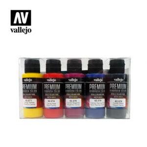 Vallejo Premium RC Color Sets Candy Colors 62.104