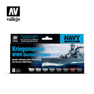 Kriegsmarine WWII German Colors Vallejo Navy 71615