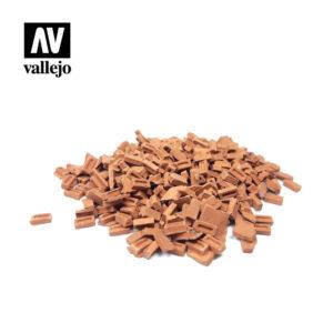 Vallejo Scenics Diorama Accessories Coloured Bricks SC232
