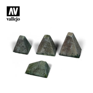 "Vallejo Scenics Diorama Accessories Höckerhindernis ""Type 38"" SC218"