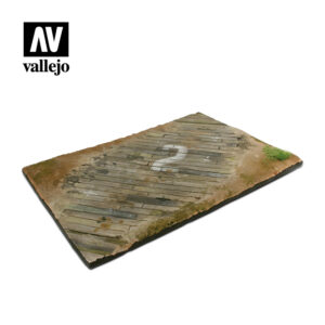 Vallejo Scenics Diorama Bases Wooden airfield surface SC102